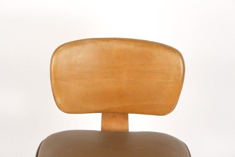 Joe Atkinson for Thonet Plywood & Vinyl Chair - 5