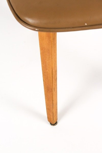 Joe Atkinson for Thonet Plywood & Vinyl Chair - 7