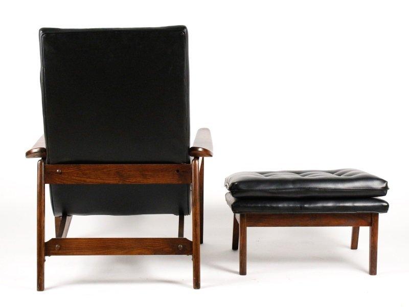Milo Baughman Scoop Lounge Chair & Ottoman - 4