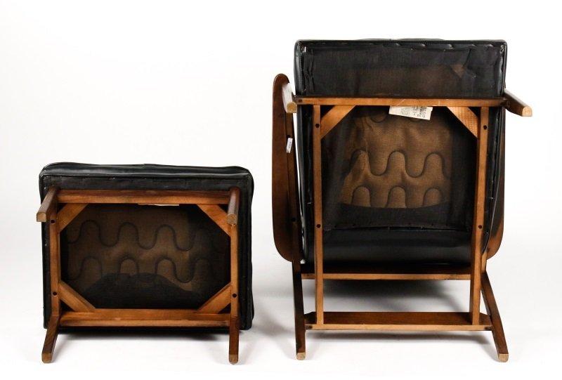 Milo Baughman Scoop Lounge Chair & Ottoman - 6