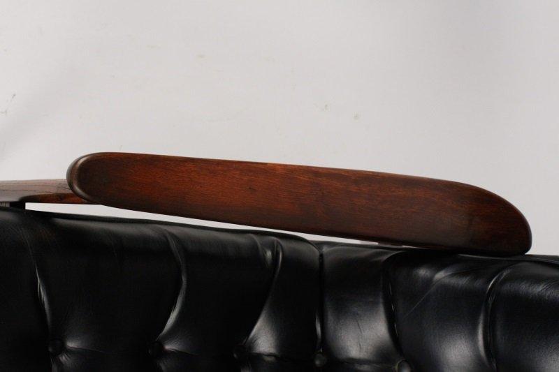 Milo Baughman Scoop Lounge Chair & Ottoman - 9
