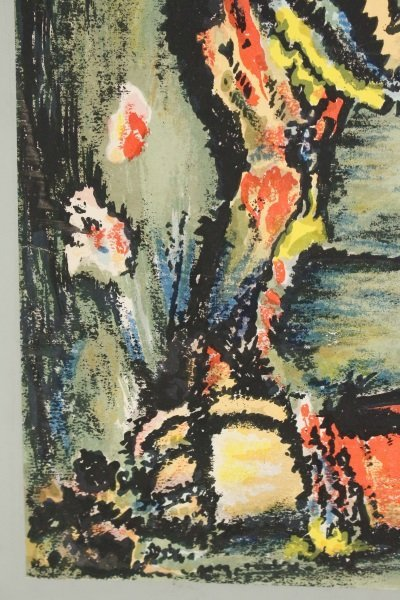 2 Georges Rouault Aquatints, Two Clowns & Old King - 4