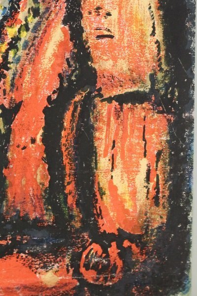 2 Georges Rouault Aquatints, Two Clowns & Old King - 5
