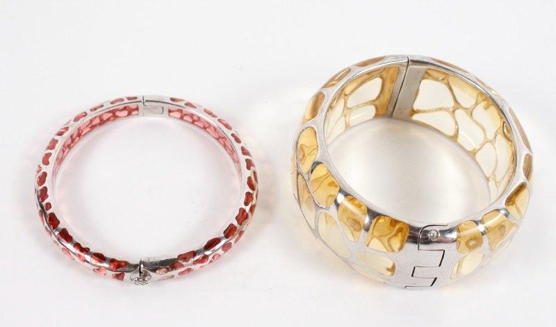 Two Angelique de Paris Sterling Safari Bracelets - 2