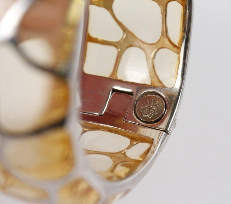 Two Angelique de Paris Sterling Safari Bracelets - 3