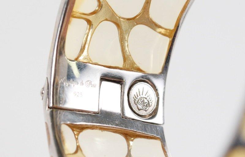 Two Angelique de Paris Sterling Safari Bracelets - 4