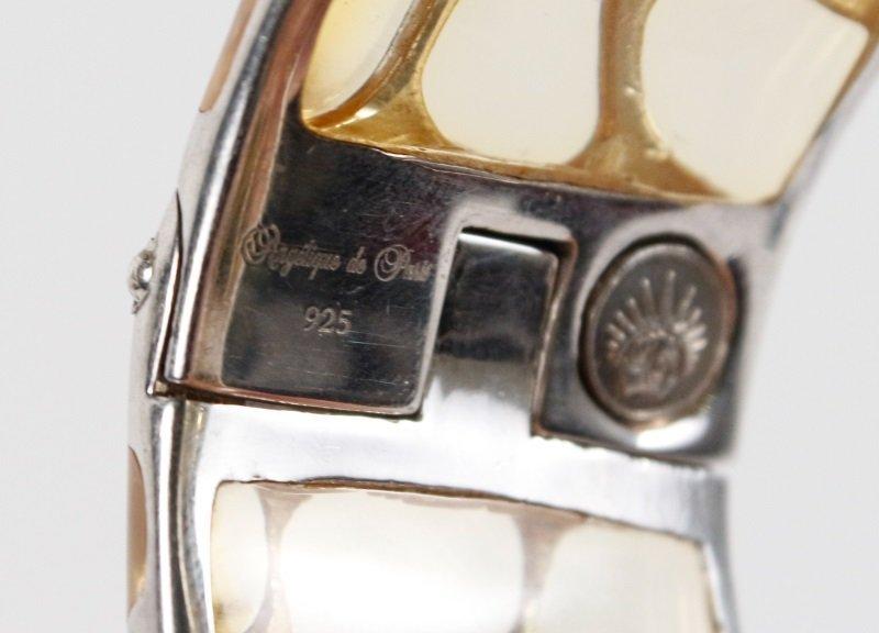 Two Angelique de Paris Sterling Safari Bracelets - 5