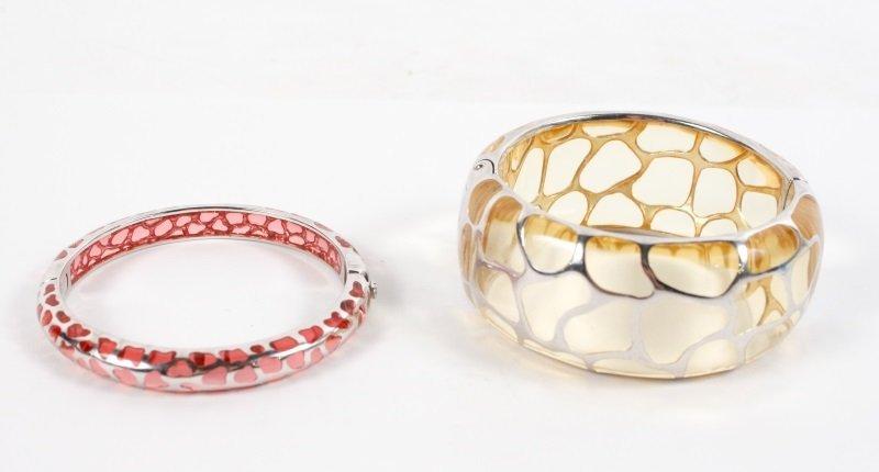 Two Angelique de Paris Sterling Safari Bracelets - 7