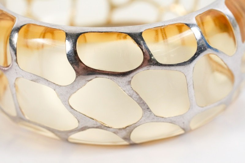 Two Angelique de Paris Sterling Safari Bracelets - 8