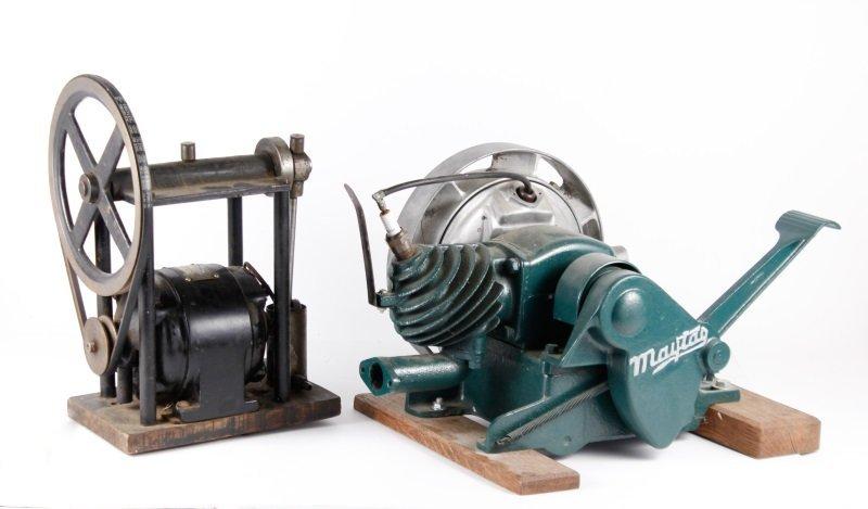 Westinghouse Electric Motor & Maytag Gas Engine