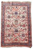 Hand Woven Persian  Area Rug 4 6 x 7 1