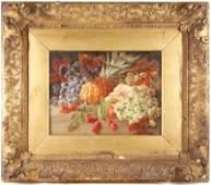Attr. to George Lance, Still Life w/Fruit, O/C