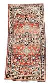 Signed Hand Woven Persian Hamadan Runner