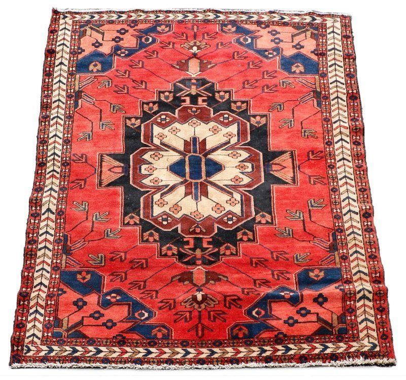 Hand Woven Persian Hamadan Area Rug