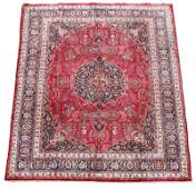 Signed Hand Woven Persian Tabriz Room Size Rug