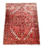 Hand Woven Persian Heriz Room Size Area Rug