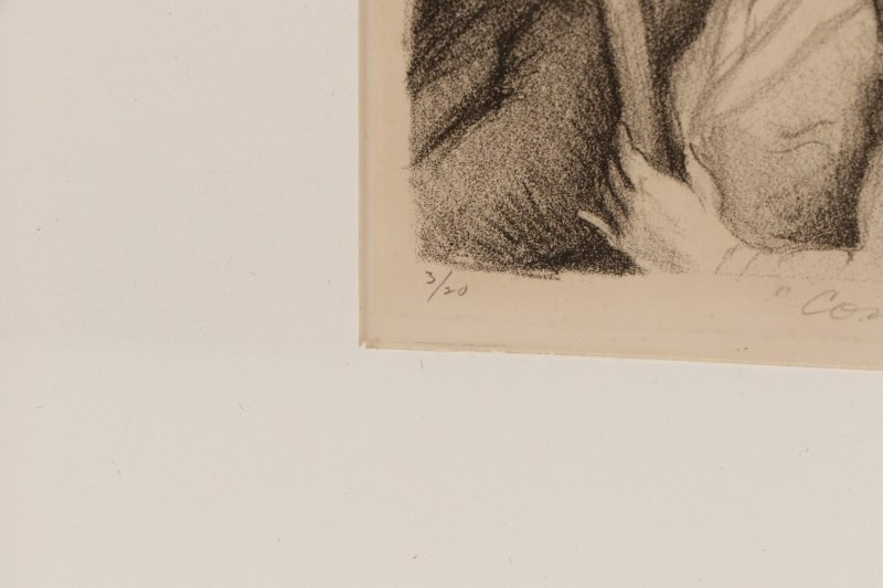 "Minna Citron, ""Concert""-1933, Litho, Edition of 20 - 6"