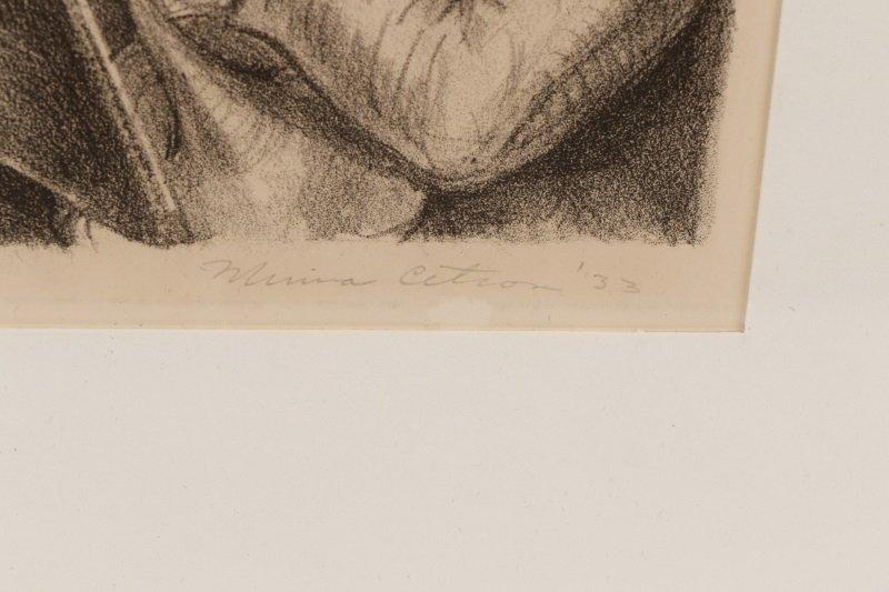 "Minna Citron, ""Concert""-1933, Litho, Edition of 20 - 8"