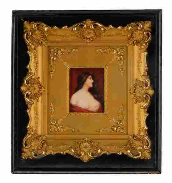 After Asti, Miniature Painting of Nude Beauty