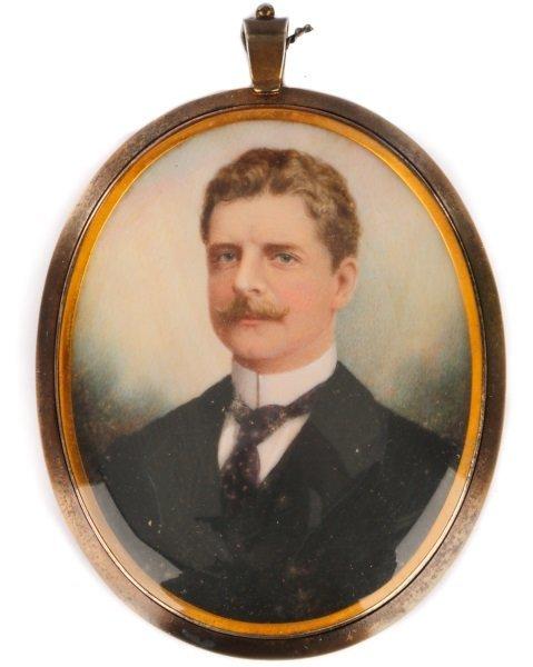 Portrait Miniature by Gerald Sinclair Hayward