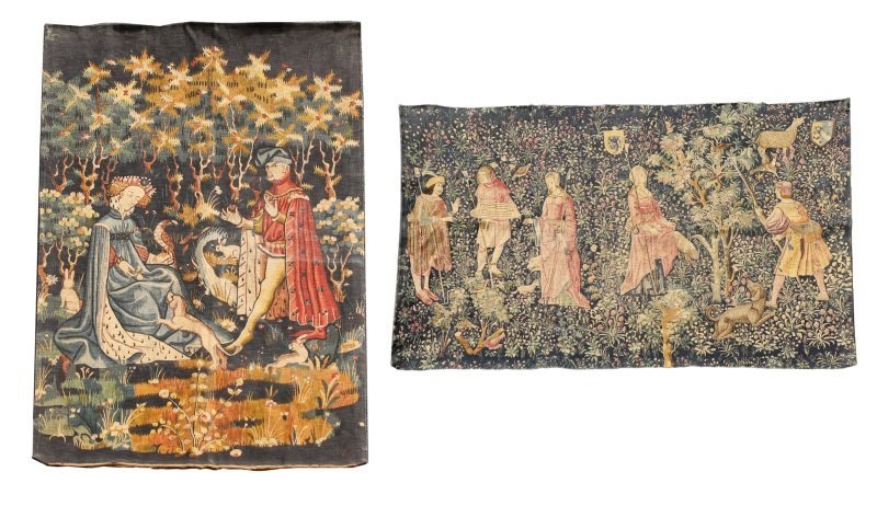 Collection of Two Tapestries, 20th C.