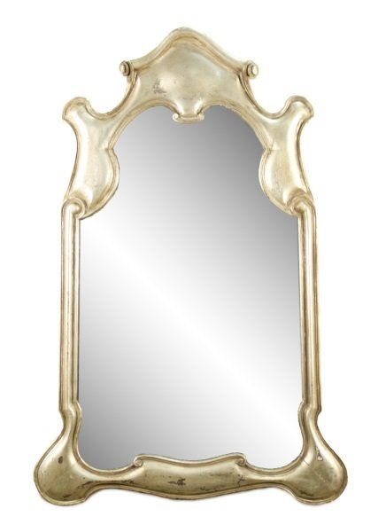 Mid Century Dorothy Draper Style Gilt Wall Mirror