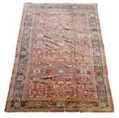 Antique Palace Size Persian Mahal Rug