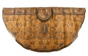 Rare English Embroidered Cope Vestment, 16th C.
