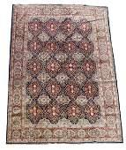 Hand Woven Persian Kashan Area Rug 10 x 14 5