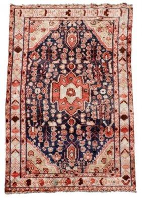 "Hand Woven Persian Nahavand Rug 3' 10"" X 6' 5"""