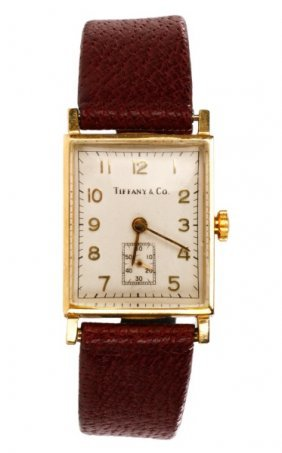 Concord For Tiffany & Co. 14k Gold Watch