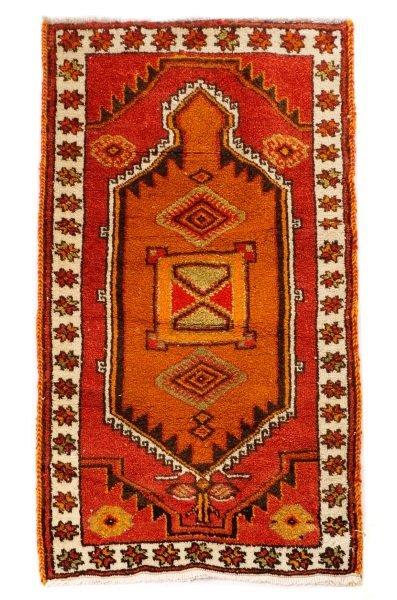 Hand Woven Anatolian Area Rug 3' x 5'