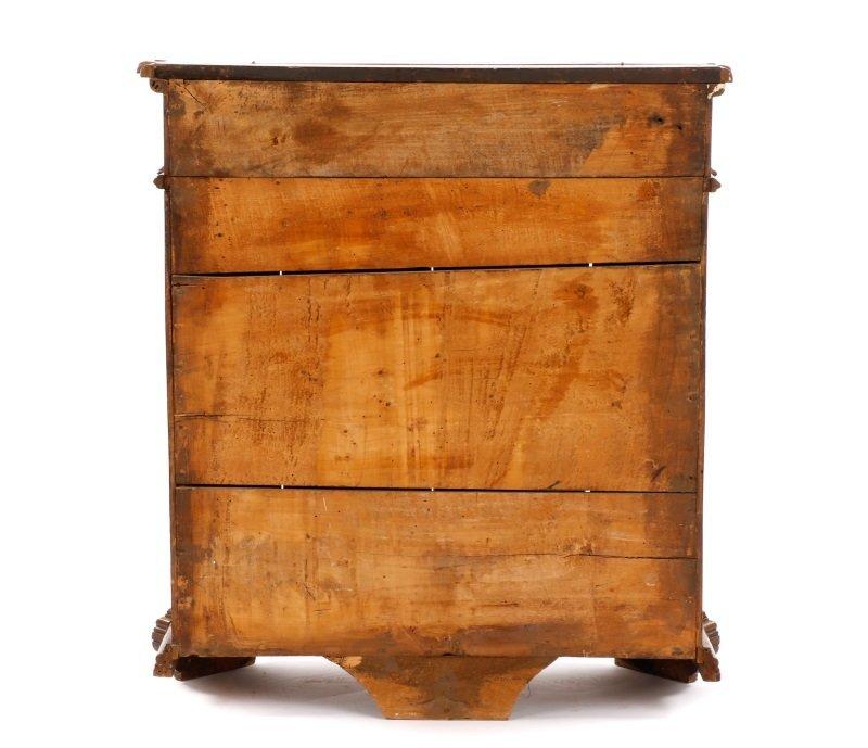 Italian Walnut Lift-Top Cabinet or Console, 19th C - 2