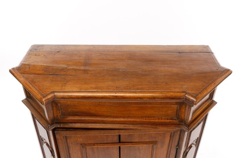 Italian Walnut Lift-Top Cabinet or Console, 19th C - 3