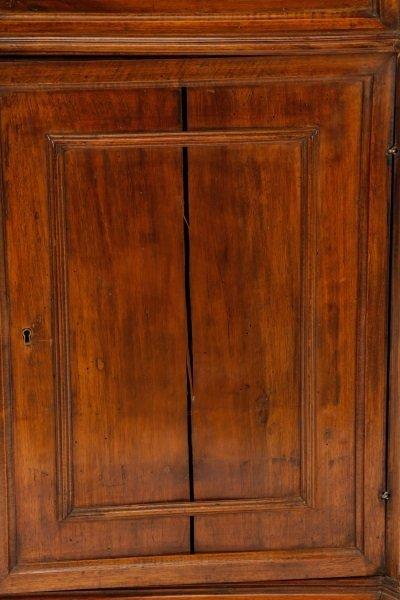 Italian Walnut Lift-Top Cabinet or Console, 19th C - 4
