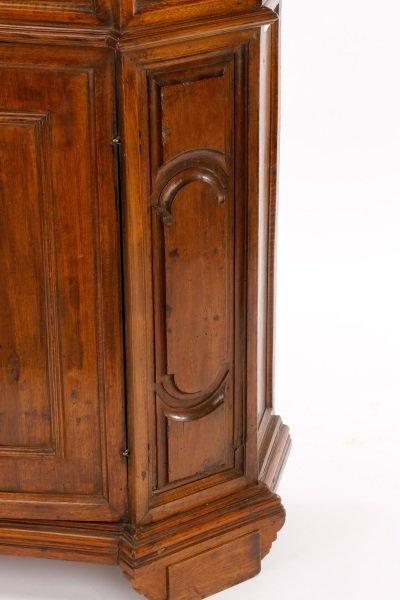 Italian Walnut Lift-Top Cabinet or Console, 19th C - 9