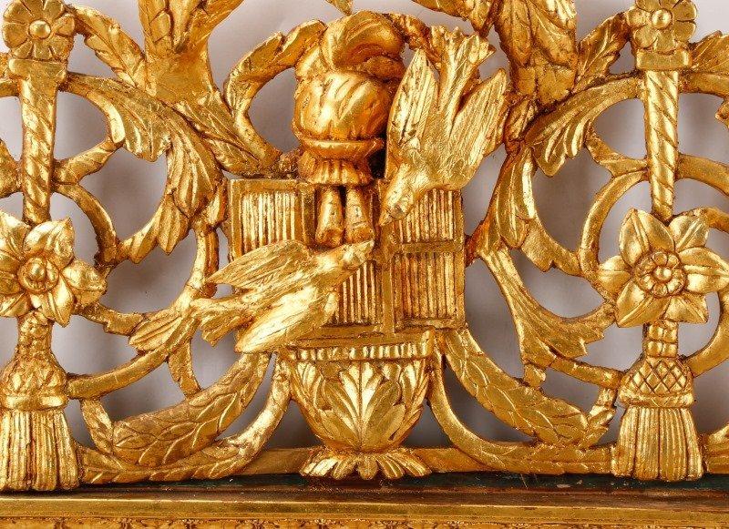 Louis XVI Style Giltwood Mirror, 19th C. - 3