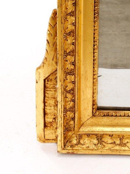 Louis XVI Style Giltwood Mirror, 19th C. - 4