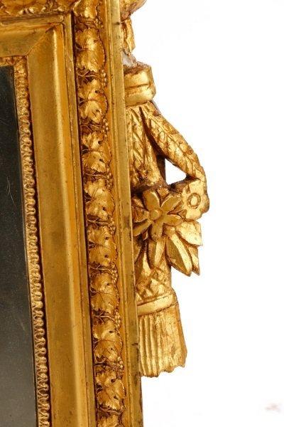 Louis XVI Style Giltwood Mirror, 19th C. - 5