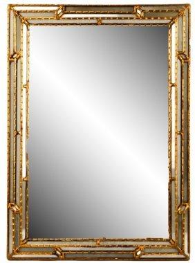Italian Giltwood Wall Mirror, 20th Century