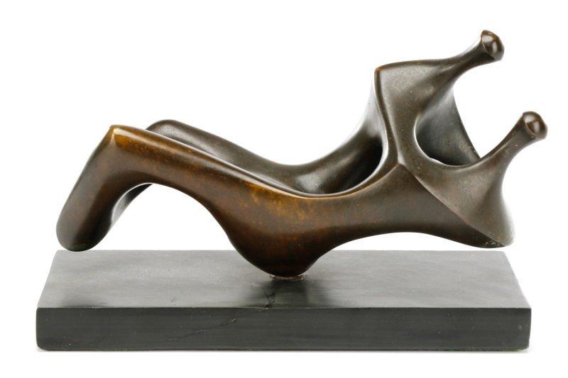 "Paul Mount Bronze Figural Sculpture, ""The Union"""