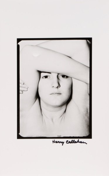 Harry Callahan, Eleanor, Signed Photograph