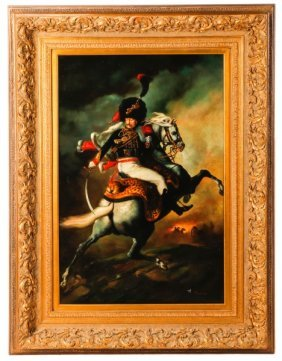 After Théodore Géricault, The Charging Chasseur
