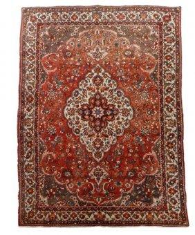 Hand Woven Persian Tabriz Room Size Rug