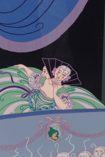 "Erté, ""Harlequin"", Limited Edition Serigraph - 4"