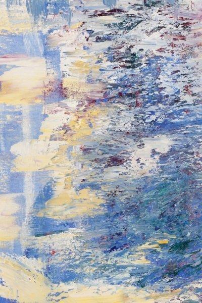 """Elizabeth Cain, """"Bathing With Buddha"""", Oil, 1985 - 4"""