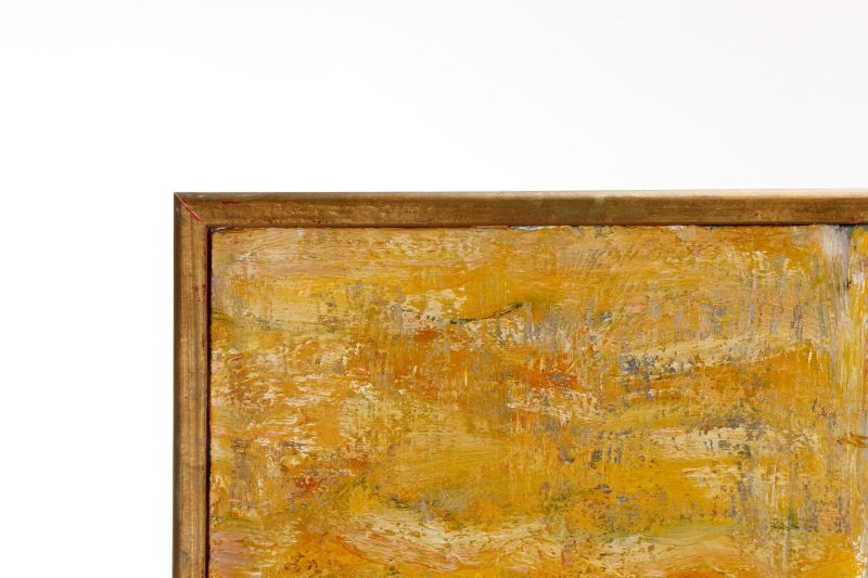 """Elizabeth Cain, """"Bathing With Buddha"""", Oil, 1985 - 9"""