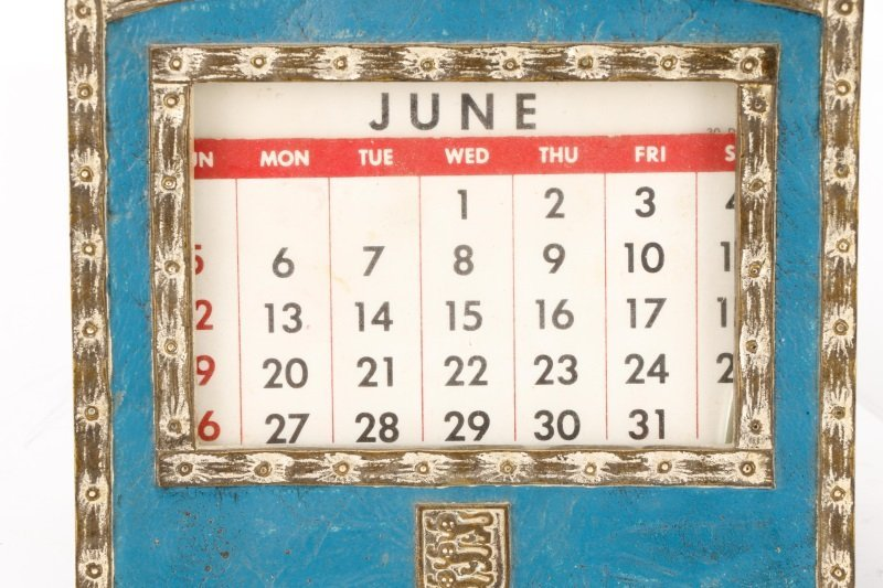 Tiffany Studios Heraldic Desk Calendar & Memo Pad - 3