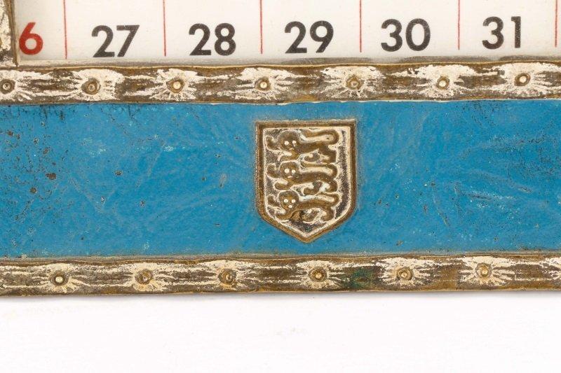 Tiffany Studios Heraldic Desk Calendar & Memo Pad - 4