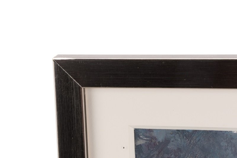 "Robert Andriulli ""Stormy Landscape II"" Oil - 6"